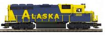 MTH Premier Alaska GP-40   diesel, 2 rail, P3.0,  DCC sound, cruise, exhaust