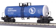 MTH Premier Great Northern (Blue) 40' Modern Tank Car, 3 rail
