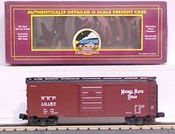 MTH Premier Nickel Plate Road 40' Single Door Box car, 3 rail