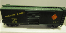 MTH Premier Toledo, Peoria, & Western 40' Single Door Box car, 3 rail