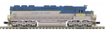 MTH Premier D&H SD-45, diesel, 3 rail, p3.0, sound, cruise, exhaust