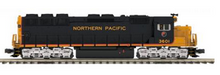MTH Premier NP SD-45, diesel, 3 rail, p3.0, sound, cruise, exhaust
