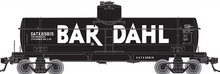 Atlas O Special Run Bardahl 8000 gal tank car, 3 or 2 rail