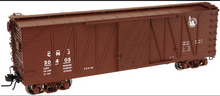 Atlas O CNJ (Miss liverty) 40' single sheathed box car, 3rail or 2rail