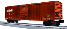 Lionel/Weaver  NS  50'  modern box car, 3r or 2r PLASTIC trucks/couplers