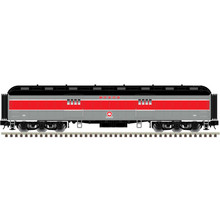 Pre-order for Atlas O 60' Monon (Red/gray) Baggage Car, 3 rail or 2 rail