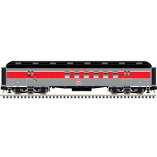 Pre-order for Atlas O 60' Monon (Red/gray) RPO Car, 3 rail or 2 rail