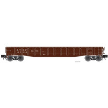 "Pre-order for Atlas O Santa Fe 52'6"" steel gondola"