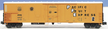 Weaver PFE  57' Mechanical Reefer with diesel motor sound, 3 rail, plastic trucks