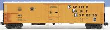 Weaver PFE  57' Mechanical Reefer with diesel motor sound, 3 rail, diecast  trucks