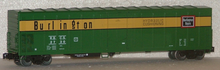 Weaver Burlington (CB&Q) 57' Mechanical Reefer w sound, 3 rail plastic trucks