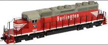 Atlas O Burlington (CB&Q) SD-40,  3 rail, TMCC