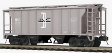 Weaver B&M (Gray) 34' PS-2 covered hopper car
