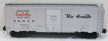 MTH Premier Rio Grande  40' steel AAR Box car, 3 rail