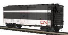 MTH Premier CN (passenger scheme)  40' steel AAR Box car, 3 rail