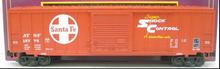 "MTH Premier Santa Fe 50' 1970's-80's  ""Shock Control"" Box car, 3 rail"
