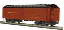 MTH Premier PRR R50B express  reefer, 3 rail