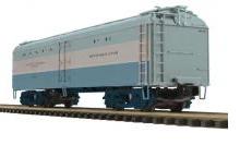 MTH Premier Santa Fe (blue goose)  R50B style  express  reefer, 3 rail