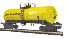 MTH Premier Corn Products (CPC Int'l)  Modern Tank Car, 3 rail