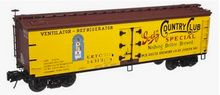 Atlas O Goetz Country Club  Beer 40' wood reefer, 3 rail or 2 rail