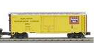 MTH Premier Burlington (CB&Q) 40'  plug door (bunkerless) Reefer,  3 rail
