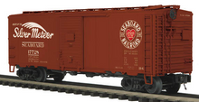 "MTH Premier Seaboard ""Silver Meteor"" 40' AAR Box car, 3 rail"