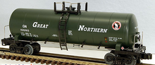 MTH Premier Great Northern 40' Modern Tank Car, 3 rail