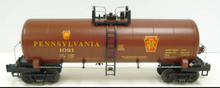 MTH Premier Santa Fe (center stripes) 40' Modern Tank Car, 3 rail