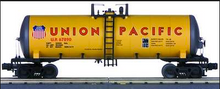 MTH Premier Union Pacific (yellow) 40' Modern Tank Car, 3 rail