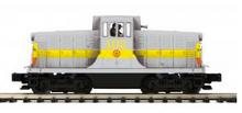 MTH Premier NYO&W (gray) GE 44ton diesel, 3 rail, Proto 3.0