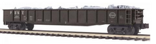 MTH Premier PBNE  Gondola with Junk Load, 3 rail