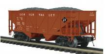 MTH Premier LV 34' Composite Hopper w/Coal Load, 3 rail