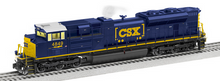 Lionel 85050 CSX SD-70ACe diesel engine, 3 rail
