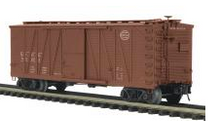 MTH Premier Michigan Central 40' Single Sheathed (wood) Box car, 3 rail