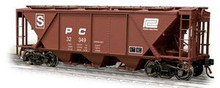 Weaver Penn Central H30 covered hopper car (tuscan), 2 rail or 3 rail