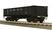 MTH Premier WP  55 Ton Steel Drop Bottom Gondola Car, 3 rail