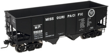Atlas O MoPac 2 bay USRA  hopper, 3 rail or 2 rail