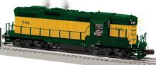 Lionel 84272/73 Legacy C&NW GP-9 , 3 rail
