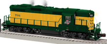 Lionel Legacy C&NW Torpedo GP-9 , 3 rail
