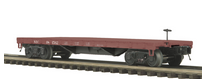 MTH Premier NYC  50-ton 41' Flatcar, 3 rail