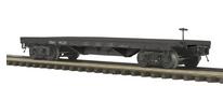 MTH Premier B&O  50-ton 41' Flatcar, 3 rail