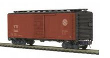MTH Premier WM (circle logo) AAR 40'  steel Box car, 3 rail