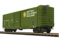 MTH Premier British Columbia  1950's & later  50' PS-1 Box car, 3 rail