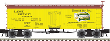 Pre-order for Atlas O Lange Creamery  36' Wood Reefer, 3 rail or 2 rail