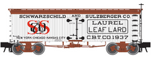 Pre-order for Atlas O S&S (lard)  36' Wood Reefer, 3 rail or 2 rail