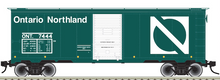Pre-Order for Atlas O Ontario Northland  1937  (1930's-1960's vintage)   40' box  car, 3 rail or 2 rail