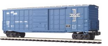 MTH Premier B&M  50' Waffle side Box car, 3 rail