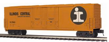 MTH Premier IC 50' double plug door Box car, 3 rail