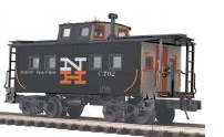 MTH Premier NH (black)  center cupola NE style Caboose, 3 rail