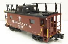 MTH Premier PRR (keystone) N-8 caboose, 3 rail